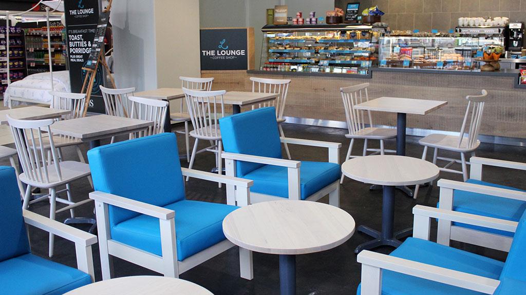 Kokoro r  estaurant furniture  by HF Contracts.