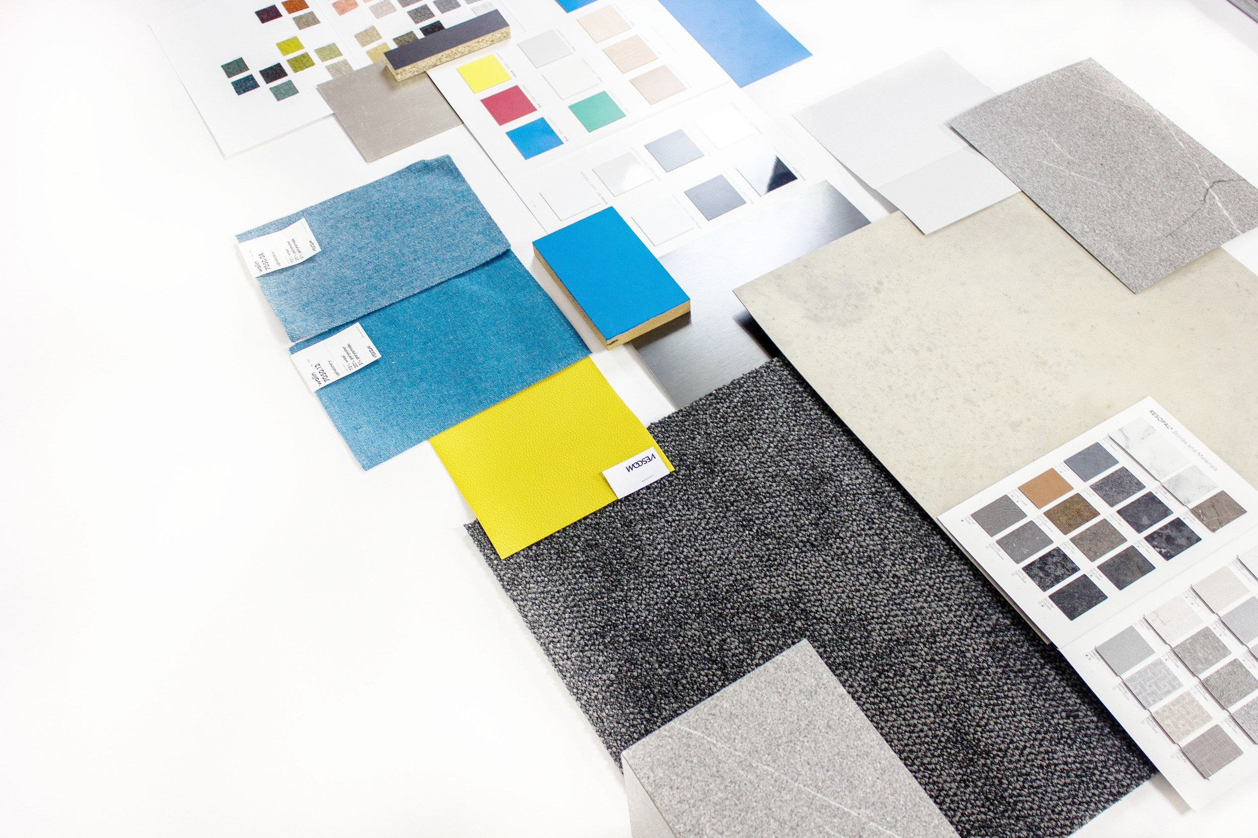 Interior Design - Following site meetings and production of existing plans we followed a thorough interior design process involving specification and design of all FF&E elements.