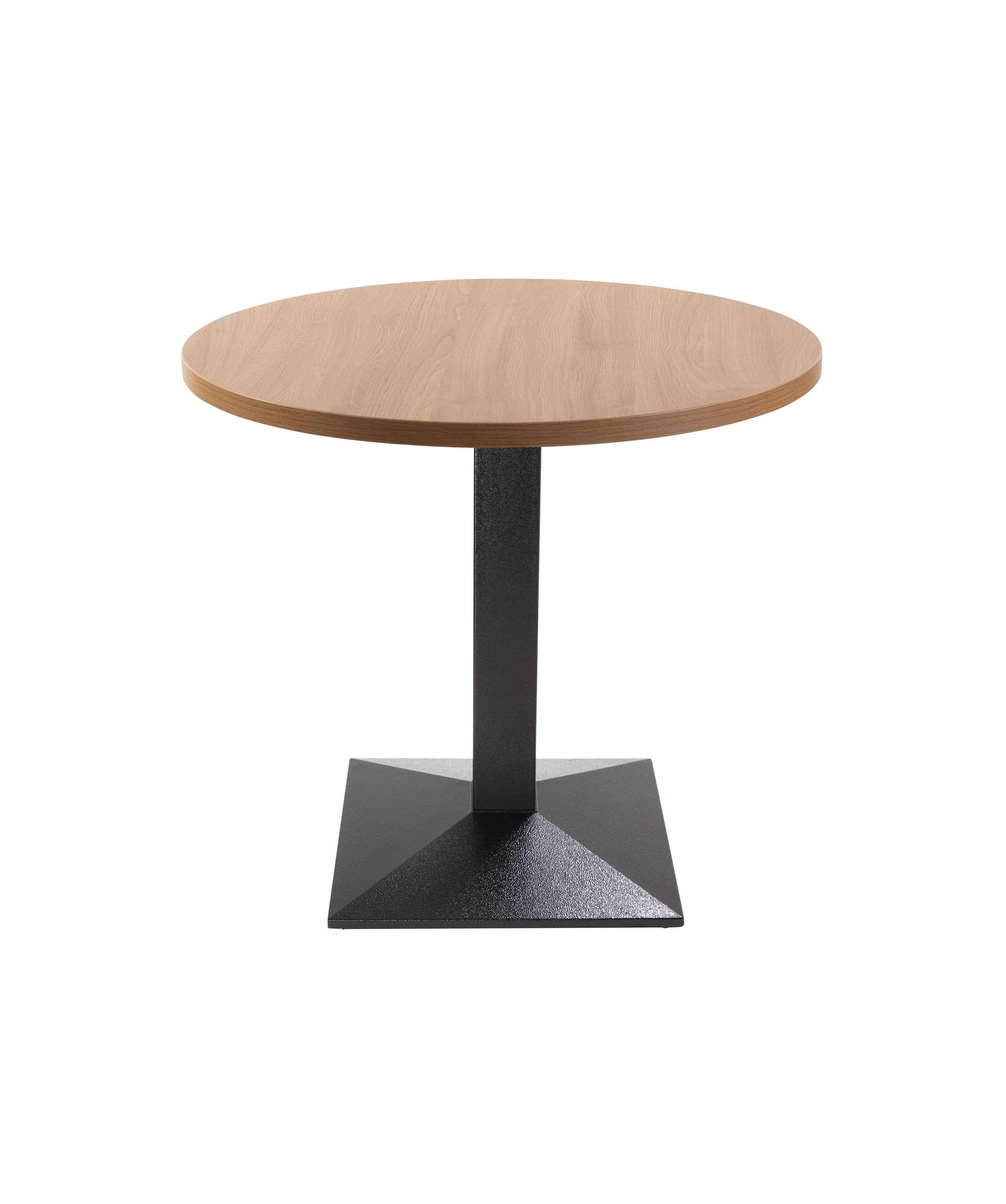Quattro dining base with round oak top.jpg