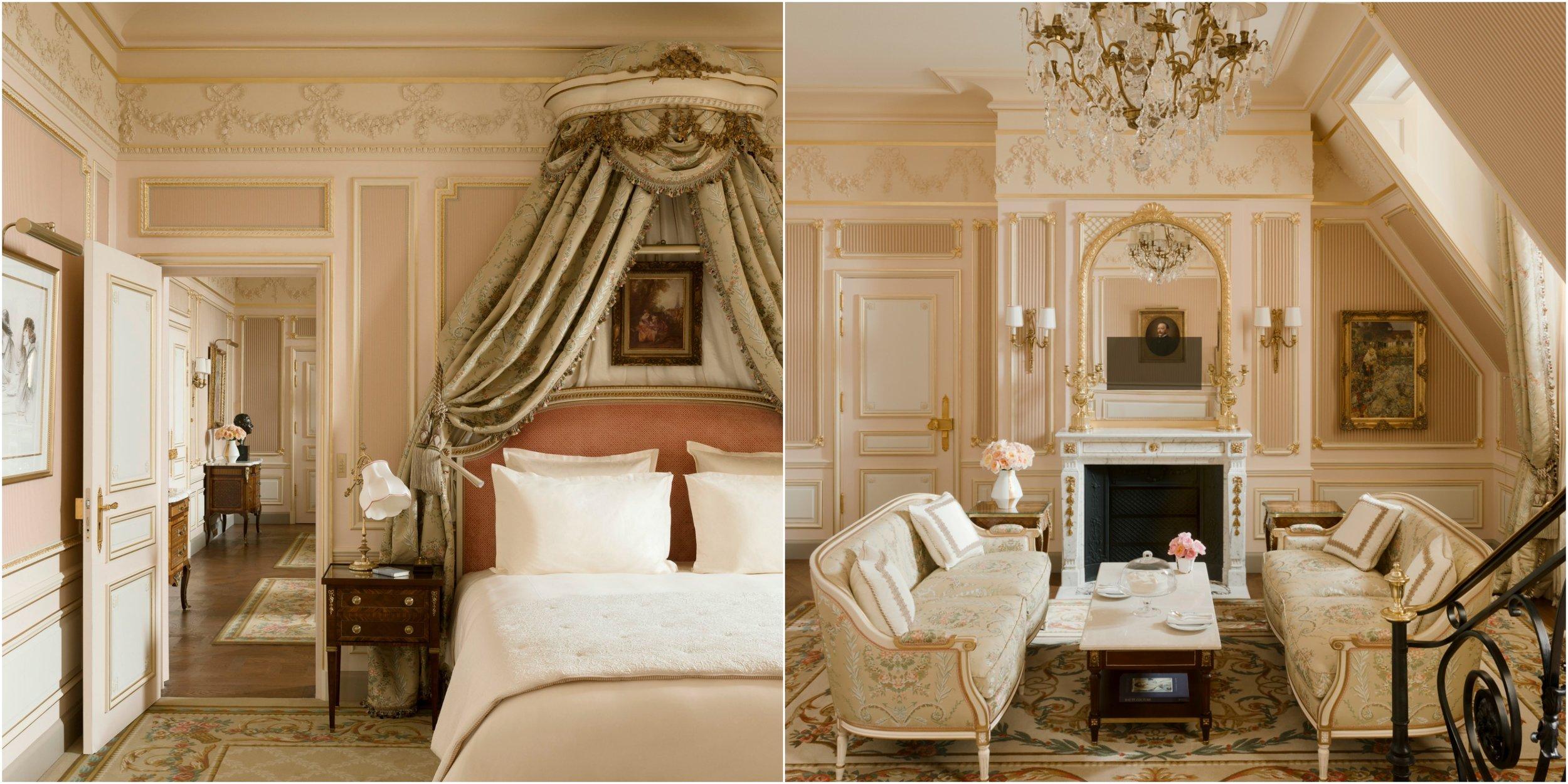 The restored Cesar Ritz Suite at the Ritz Paris. Photo Credit Suite César Ritz © Vincent Leroux