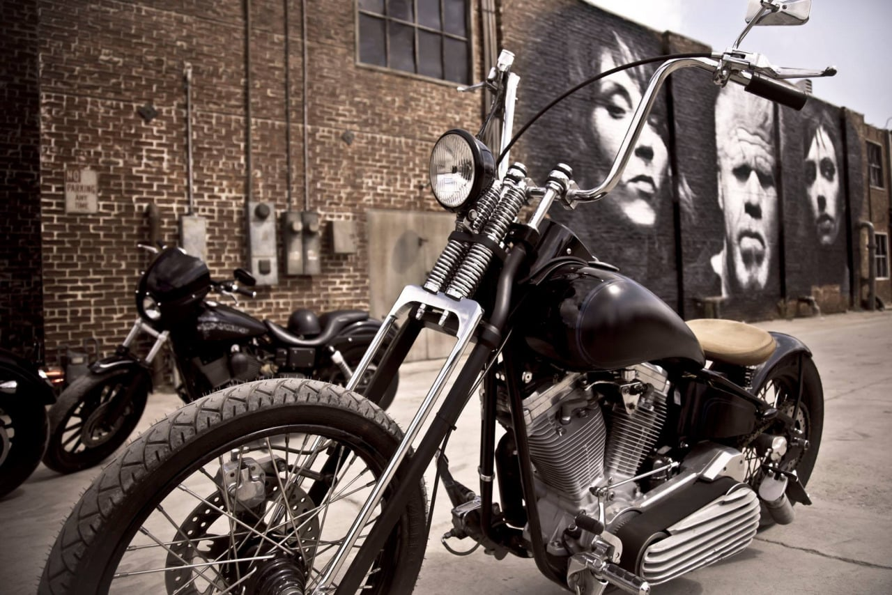 Sons of Anarchy features some amazing Harley Davidsons