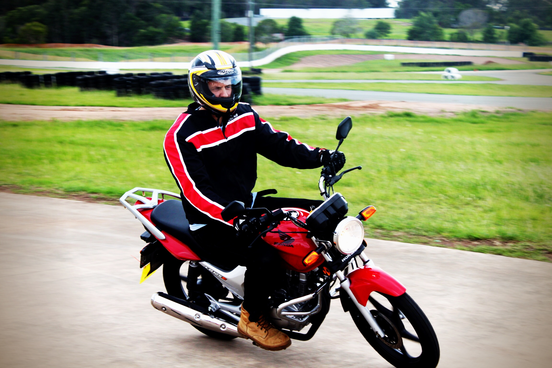 Get your motorcycle licence at Ian Watson's