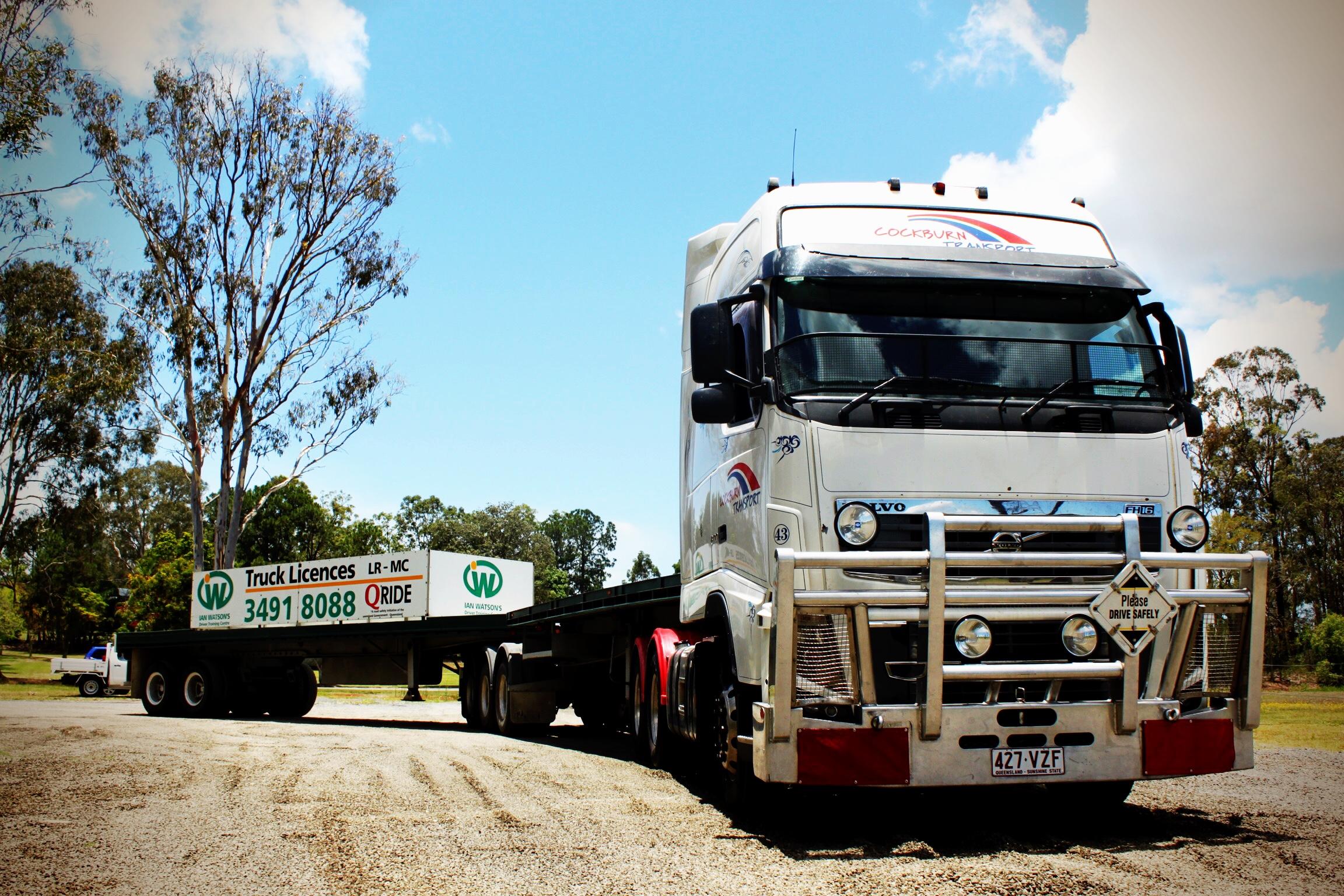 Ian Watson's Truck Driving School's Volvo FH16