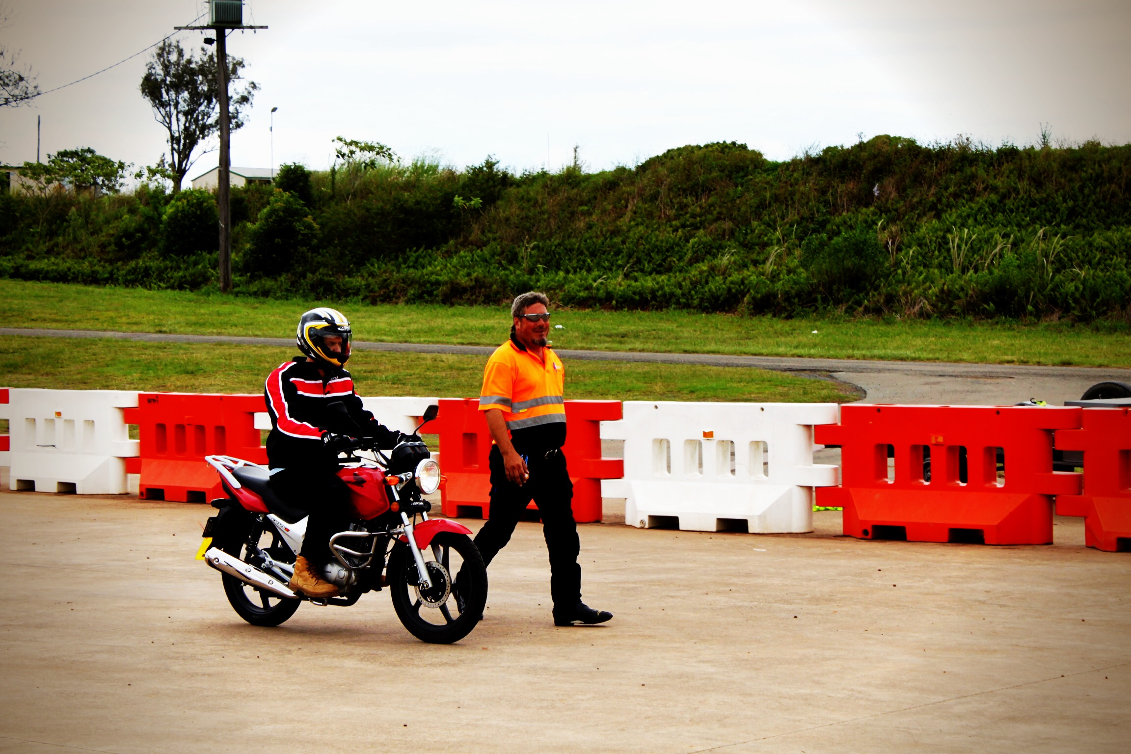 Learn how to do controlled motorcycle braking at IAN WATSON'S