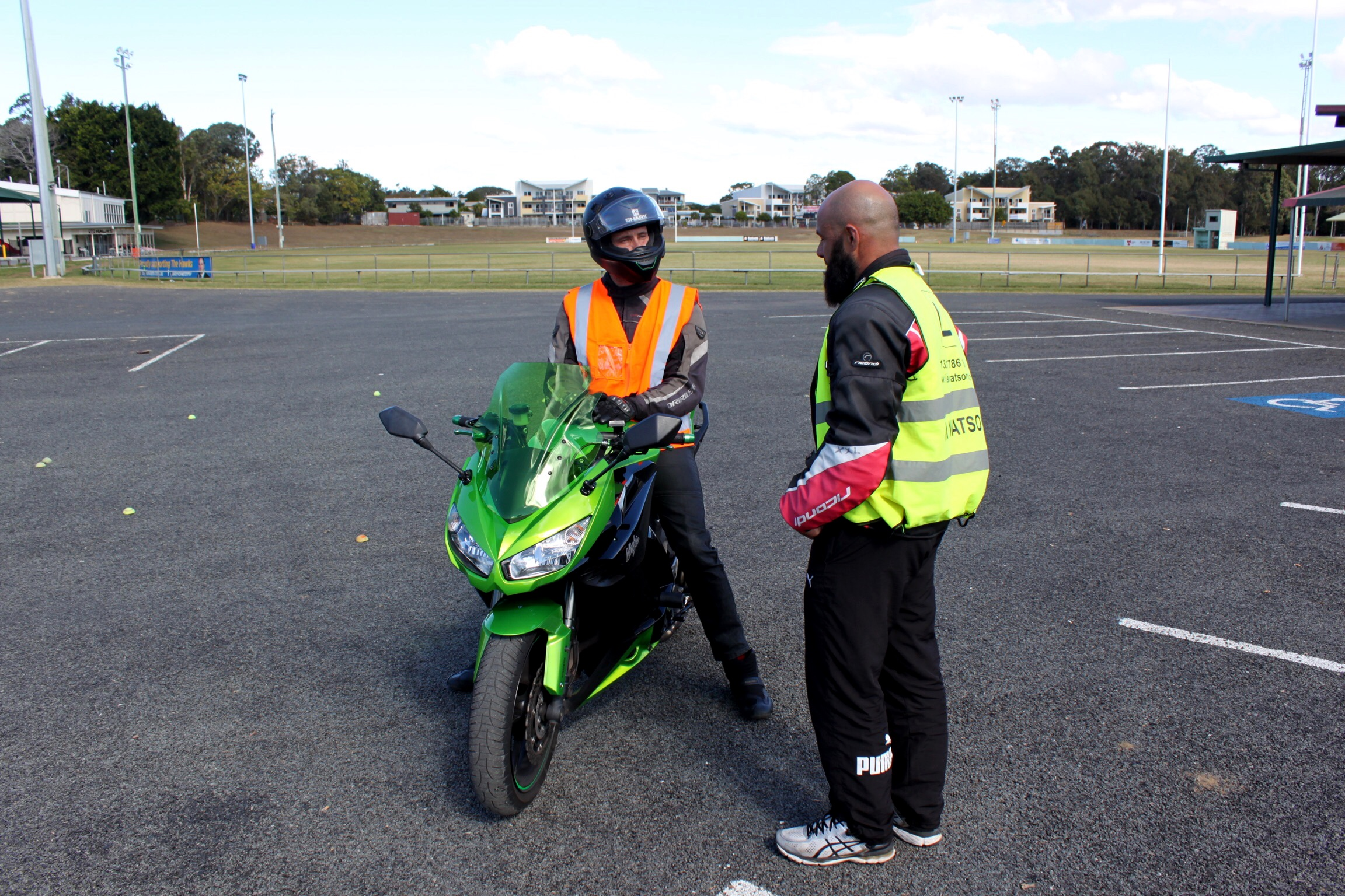 How to Avoid a Motorcycle Accident - be defensive, proactive and also be cooperative with other road users