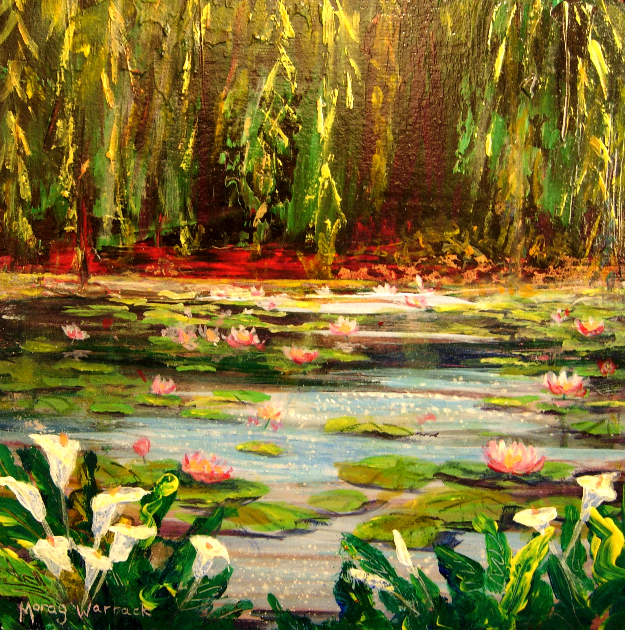 Pink waterlilies with calla lilies.jpg