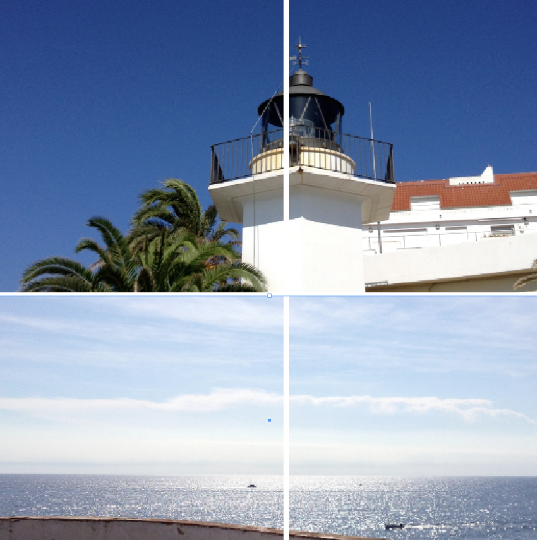 "the light meridian leaves continental europe to cross the mediterranean at the ""el faro"" lighthouse in palamós (es) on E 3°7'45""/ N 41°50'29""// at the solar noon, with your back to 'el faro', you can see how the rays of the sun are reflected in a wide band of light from north to south and out to the horizon, along the light meridian. (picture at the solar noon:14/10/2013 at 1.32 p.m.)"
