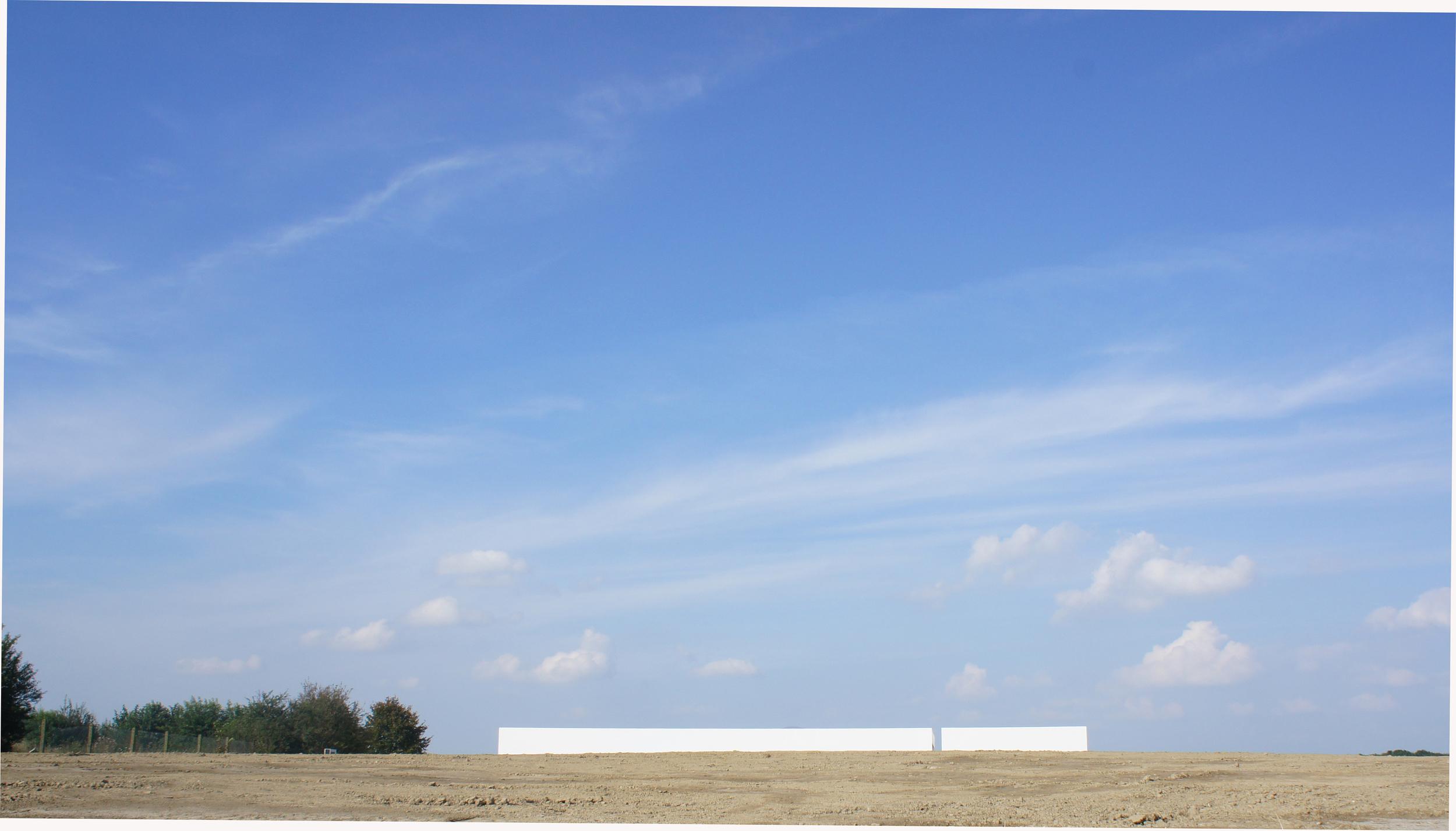 """MUZE'UM L, LIGHT & LANDSCAPE, BUILD ON THE LONGITUDE 3°7'45"""" E BY ARCHITECT    MARC VAN SCHUYLENBERGH"""