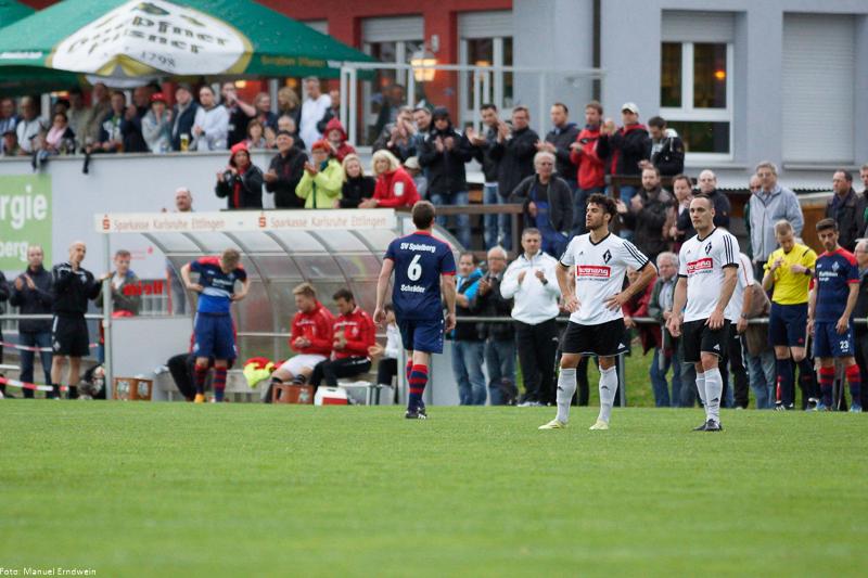 Enttäuschte Gesichter beim FCG - Rudy Vargas-Müller (links) und Mario Pavkovic (rechts)