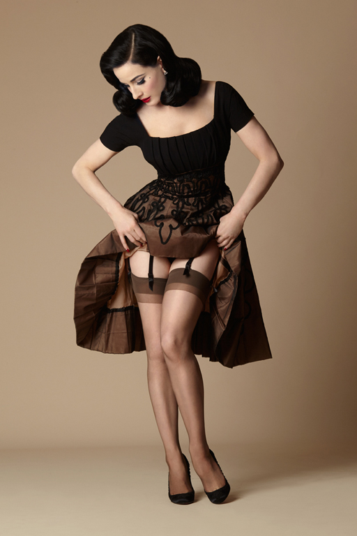 Secrets in Lace  - Dita Von Teese collection of modern Nylon Stockings