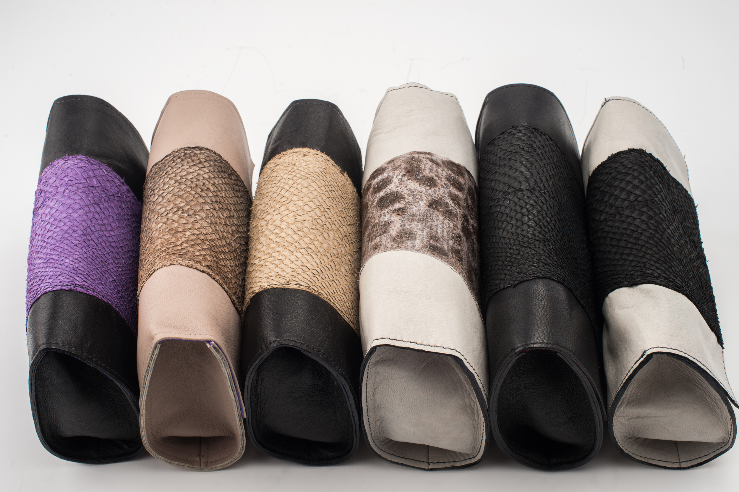 Bronagh Holmes Luxury - Avani - Selection of various leathers