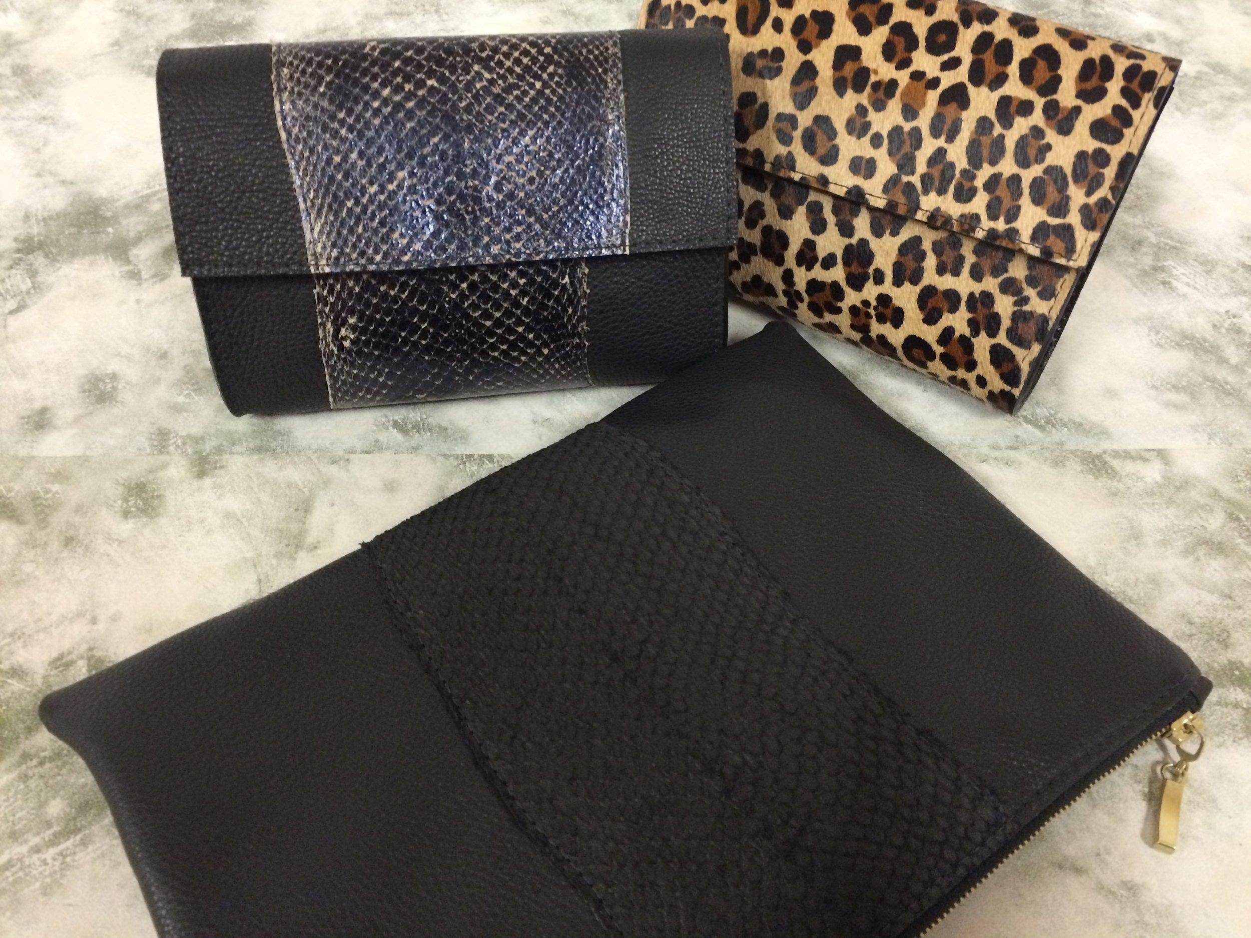 Bronagh Holmes Luxury - Arina-Black Salmon - Avani-Snake Effect - Avani-Leopard Print