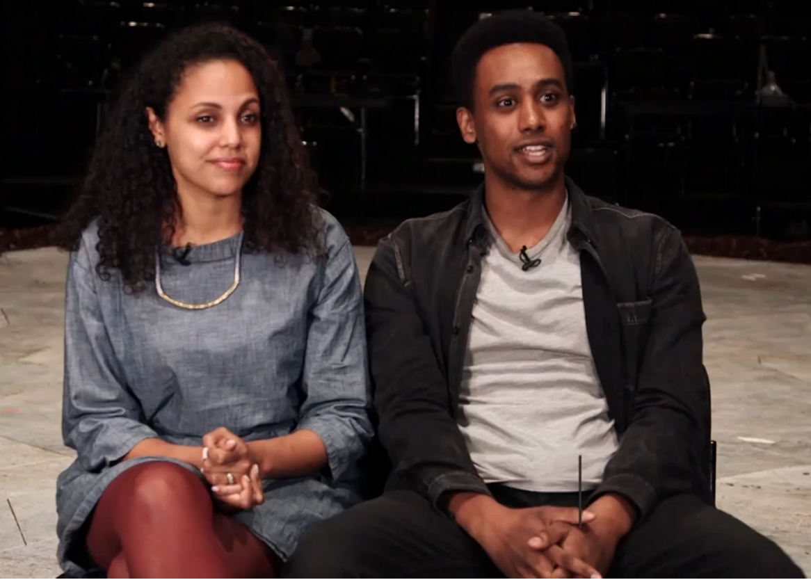 Cousins Weyni and Araya Mengesha are taking on Shakespeare together. (Mercedes Grundy for CBC Arts)