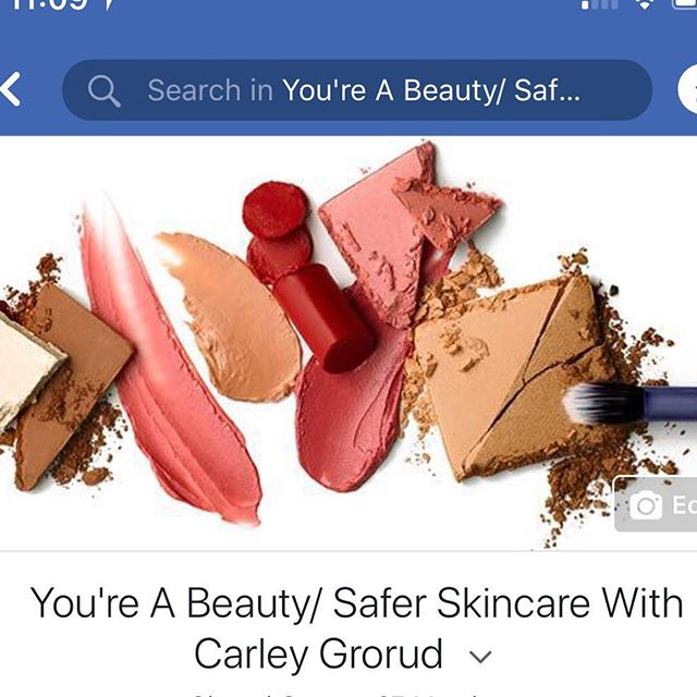 Did you know I have a FB group? I share healthy lifestyle tips, tips for making a chemical free home, recipes, makeup tutorials and all the new stuff from Beautycounter. I also love to answer all of the questions! *************************************Want to join? Search You're A Beauty/ Safer Skincare with Carley Grorud in FB groups (Feel free to message me and I can send you a direct link!) #cleaneating #makeuptutorial #saferbeauty #cleanbeauty #beautycounter #healthyliving #chemicalfree #chemicalfreehome