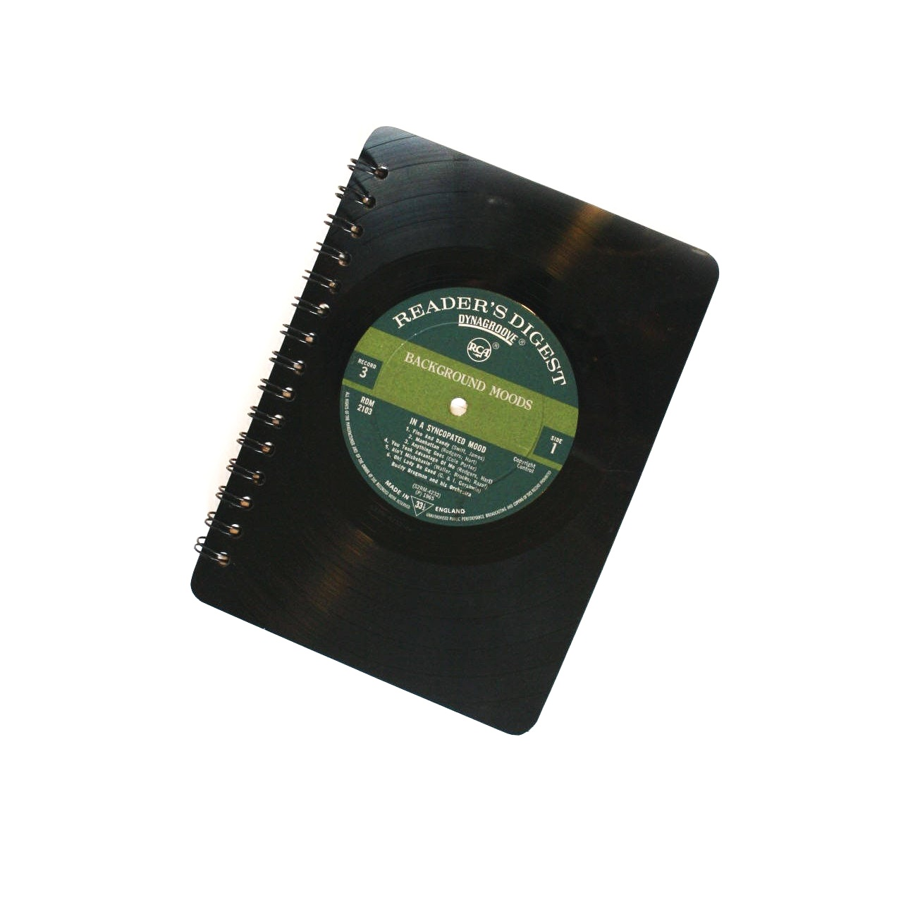 Melodies - Vinyl Record Notebook