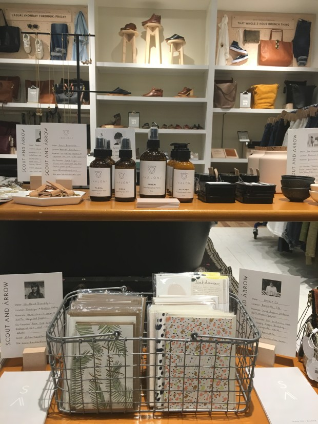 Pop-up with Scout & Arrow at Madewell at Ponce City Market, Atlanta, GA.