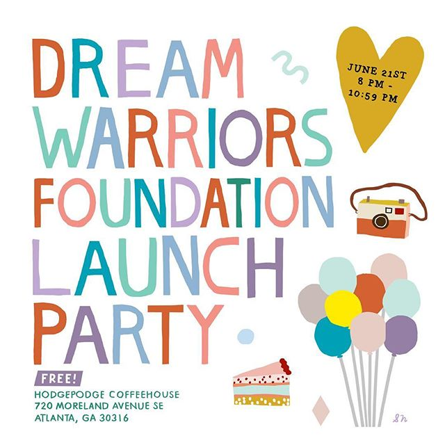 💜 P O P  U P  Alert 💜 // Mark your calendars and come see us at the Dream Warriors Foundation Launch Party June 21! Visit @dreamwarriorsfoundation for more info and a full list of lovely vendors 😘
