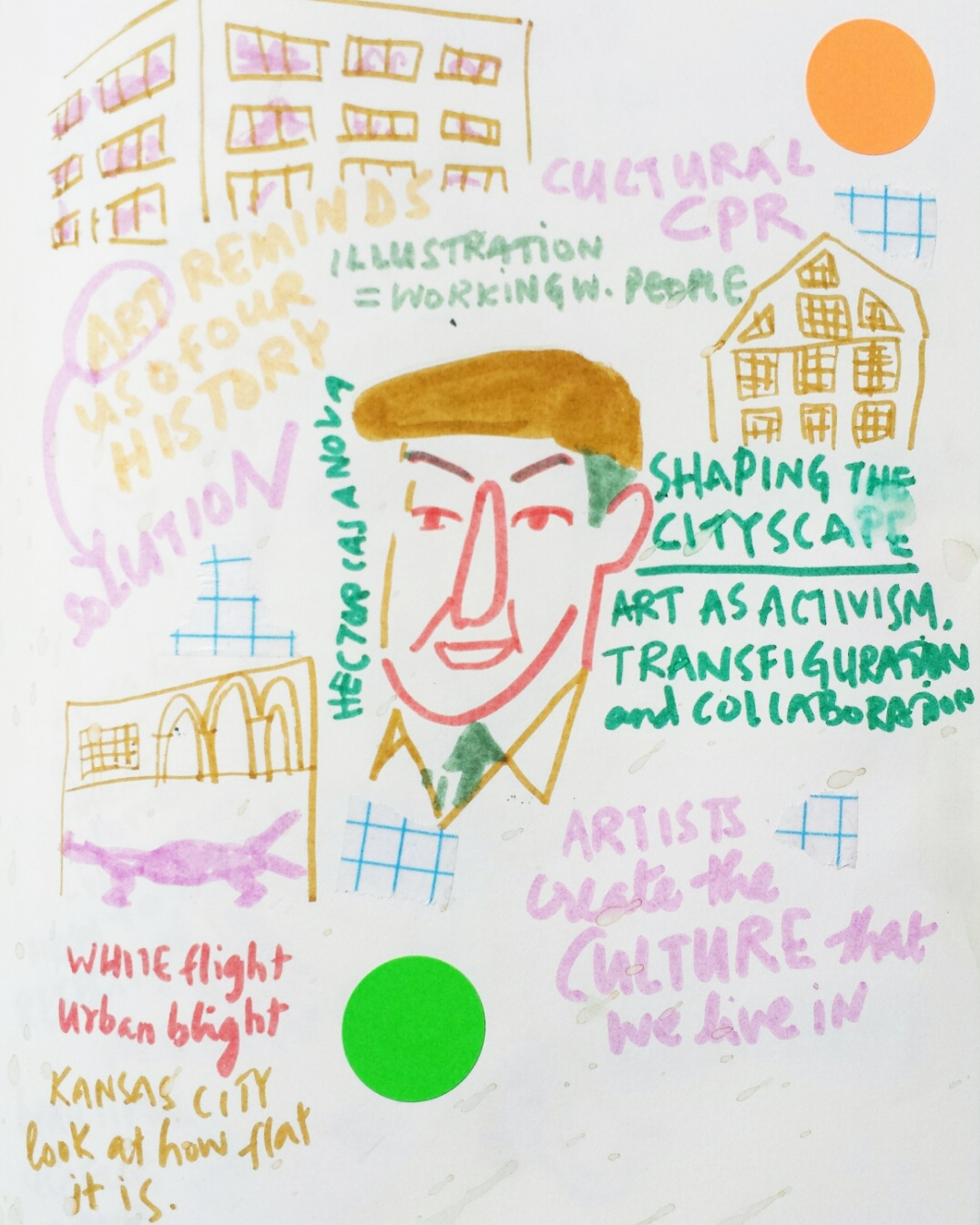 Hector Casanova / Shaping the Cityscape: Art as Transfiguration & COllaboration