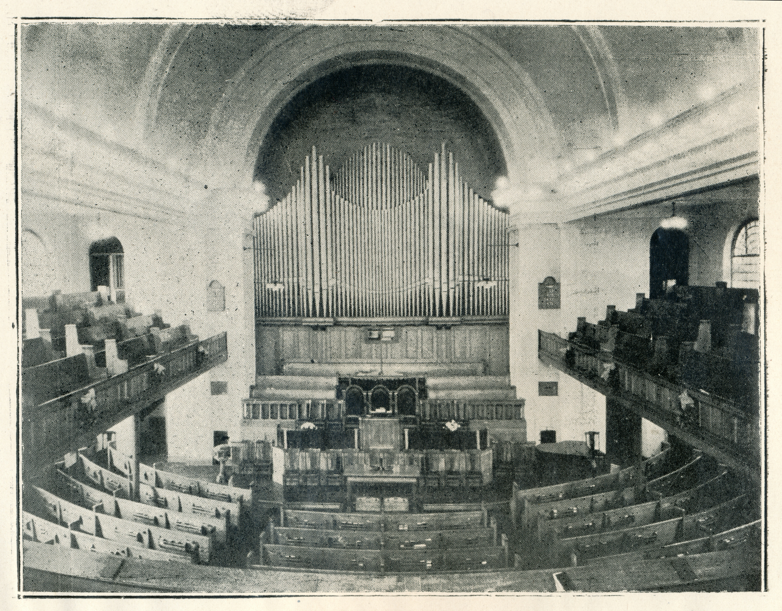 Circa 1928, scanned from the St. Andrew's Church Annual Report
