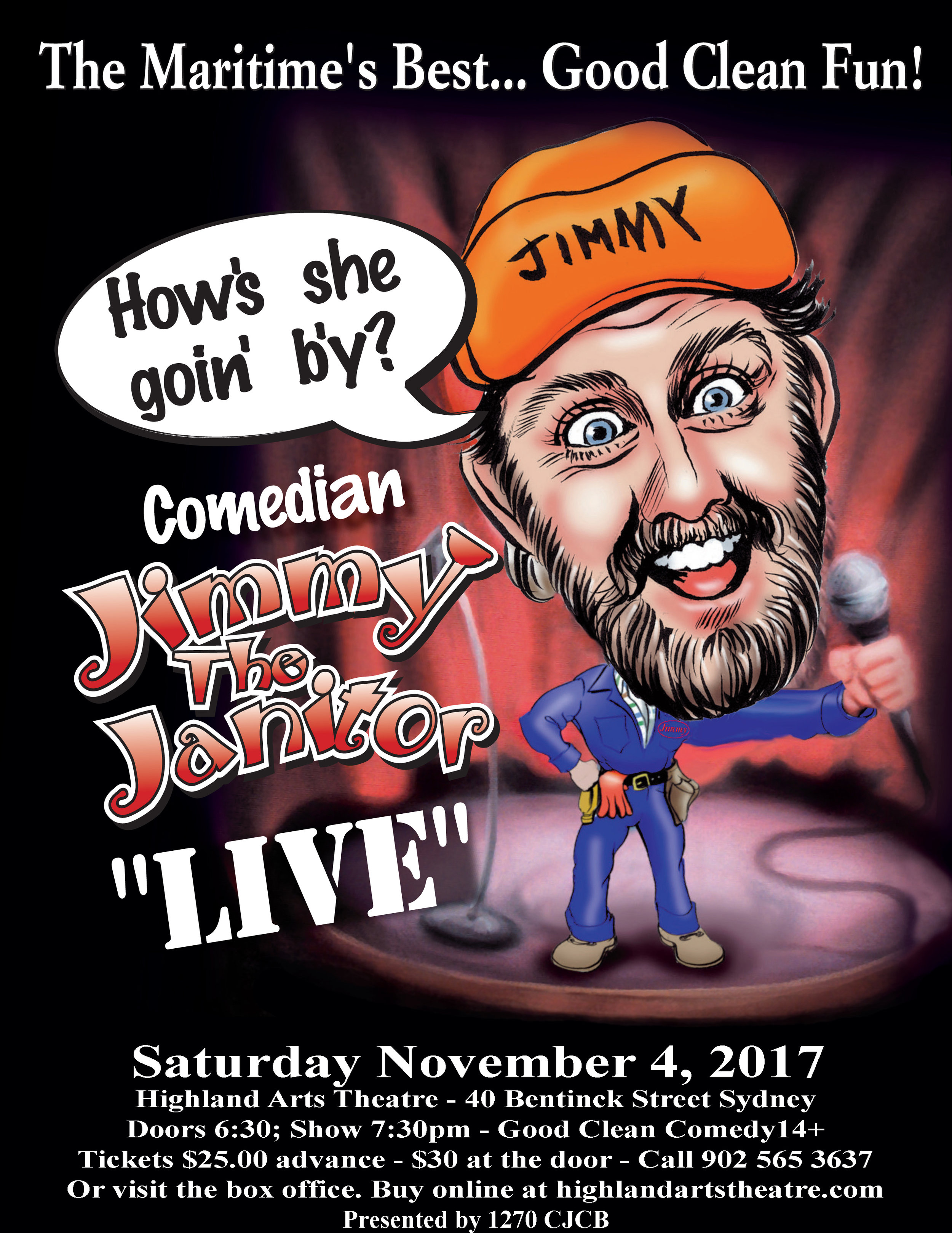 Jimmy Janitor Saturday Nov 4 2017 Sydney Poster Revised.jpg