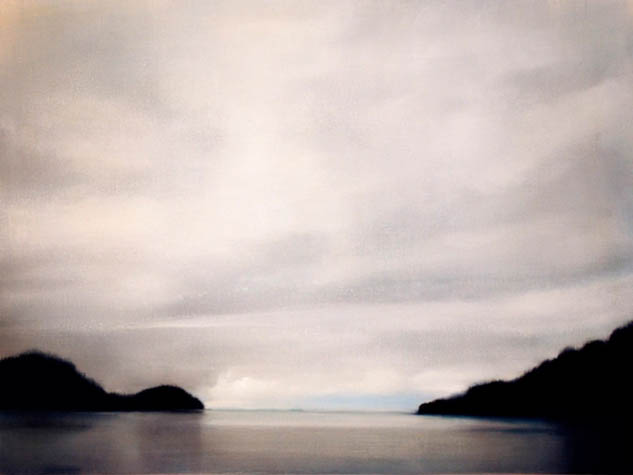 Evening at Sullivan Bay II, 2007, Oil on Canvas, 18 x 24