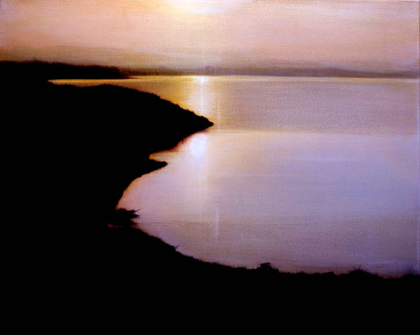 Morning at Hyacinth Bay,  2008, Oil on Canvas, 24 x 30, sold