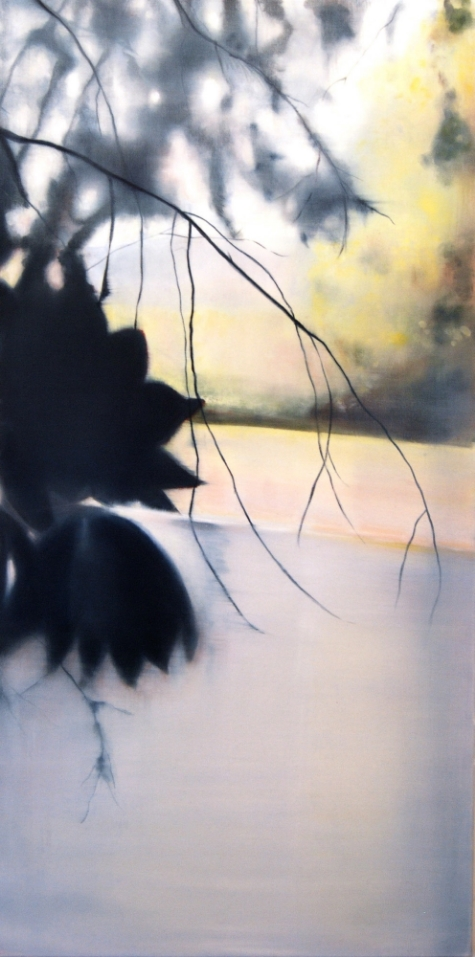River II, 2010, Oil on canvas 48 x 24, sold