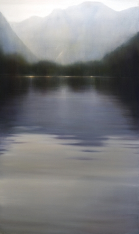 Sullivan Bay II, 2008, Oil on Canvas 60 x 30