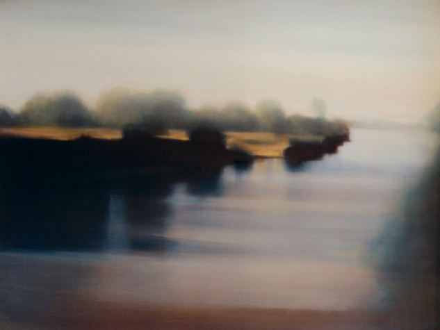 River, 2008, Oil on Canvas, 30 x 40