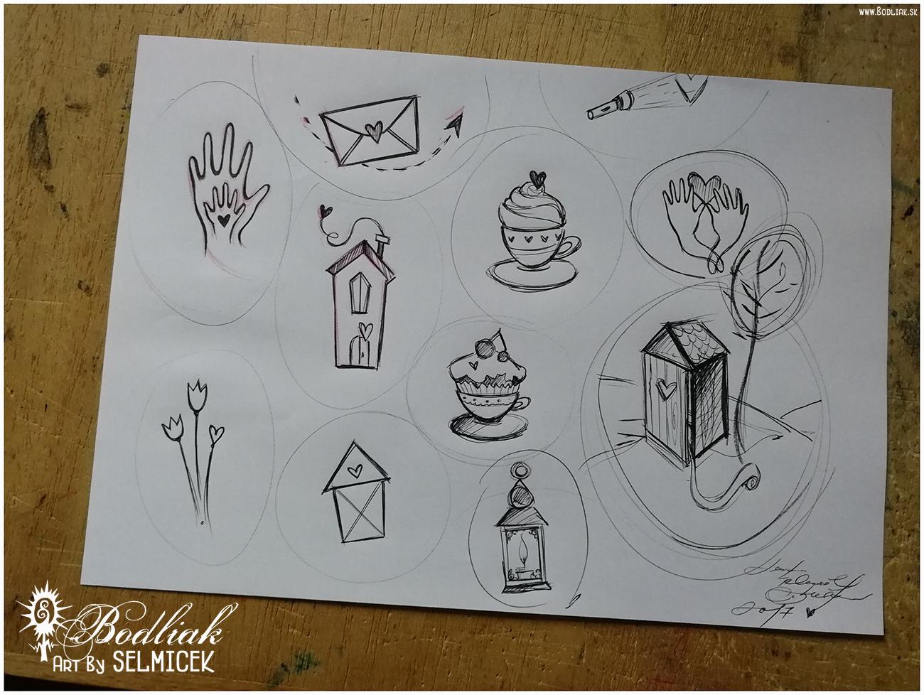 Roztomilé mini tetovaníčka na spríjemnenie každého dňa   autor: Selmicek   rúčka v ruke  - 5cm x 3cm ...  obáločka  - 3,5cm x 6,5cm ...  domček s komínom  - 6,5cm x 3cm ...  tulipániky a  ♥ - 5,5cm x 2,5cm ...  domček  - 4cm x 2,5cm ...  šáločka srdiečkova  - 4,5cm x 3,5cm ...  šáločka s mafinom  - 4,5cm x 3cm ...  lampášik  - 5cm x 2cm ...  baterka  - 1,5cm x 4,5cm ...  ruky držiace  ♥ - 4cm x 3cm ...  záchodík  :D - samotný - 7,5cm x 4, 5 cm (zo stromcekom - 11cm x 6cm) ... Každé jedno tetovaníčko Vám Lenka Selmicek rada vytetuje a cena každého jednoho mini tetovaníčka je 40,- eur.
