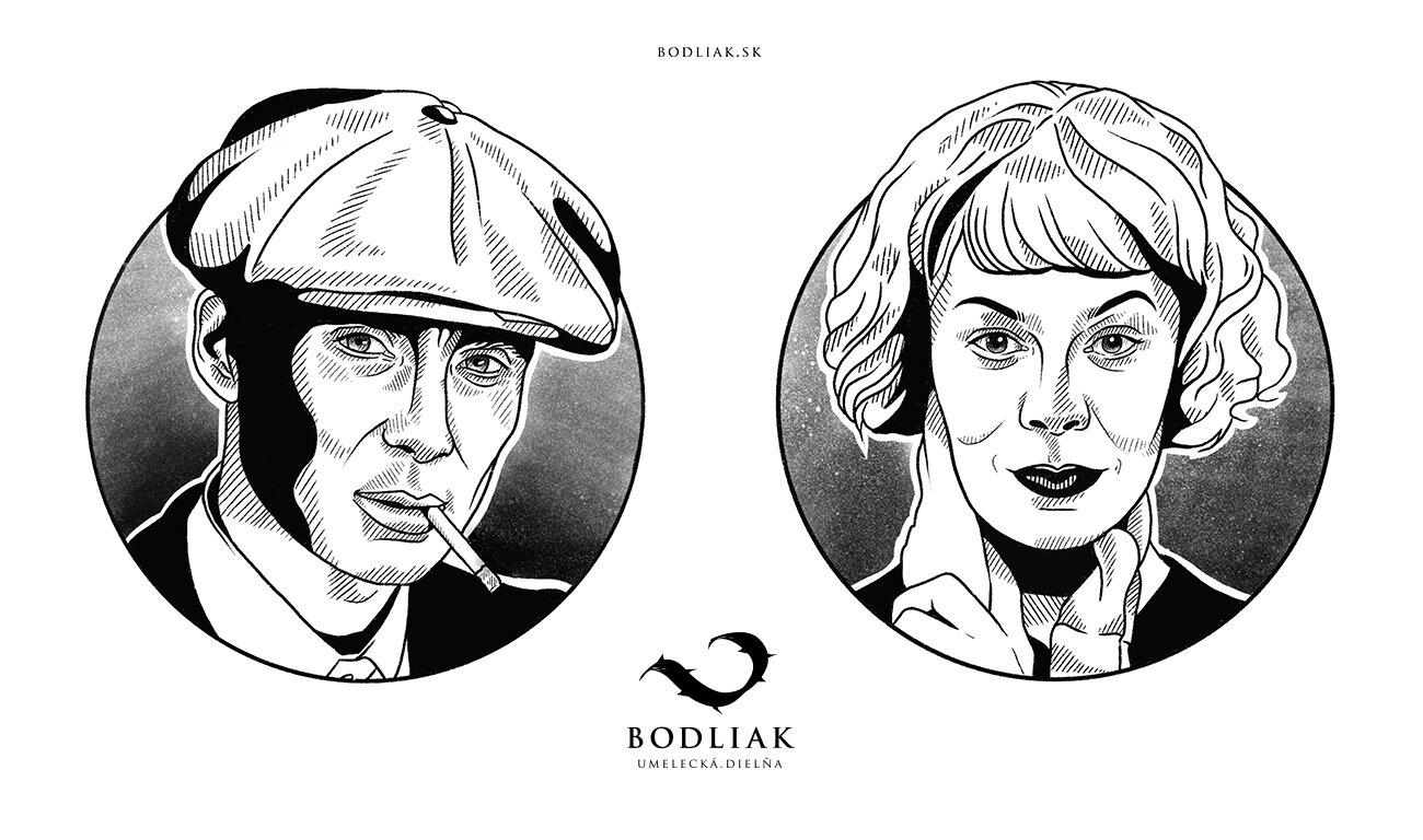 Peaky Blinders - Tom a Polly   autor: Nikoleta (Nika)