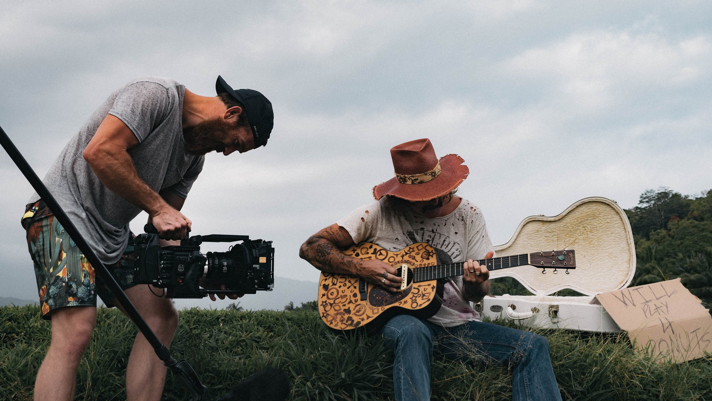 Video marketing and storyteller marketing go hand-in-hand. Try new trends like music video marketing. Photo credit: Jakob Owens