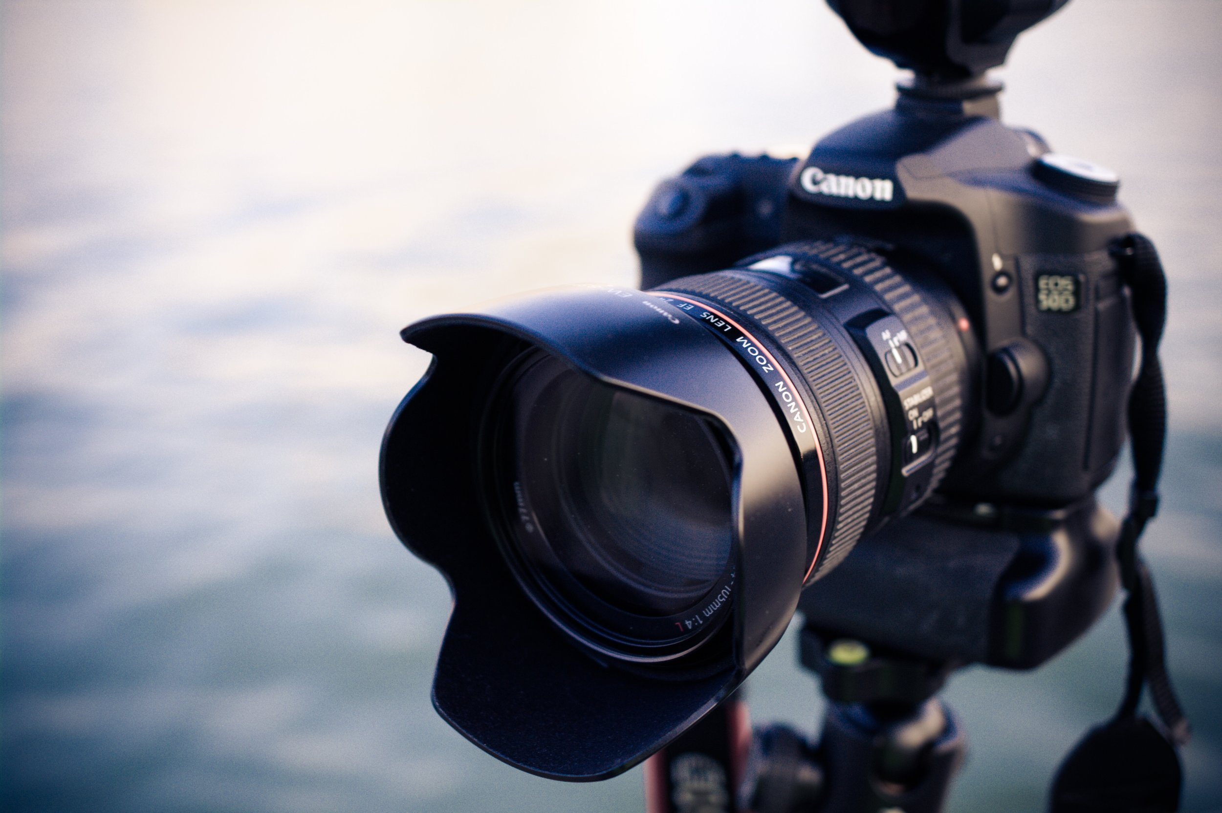 Fans of shooting video with a DSLR defer to Canon. The brand has an extensive line of cameras at varying price points to choose from. Photo credit: Alexandar Wang