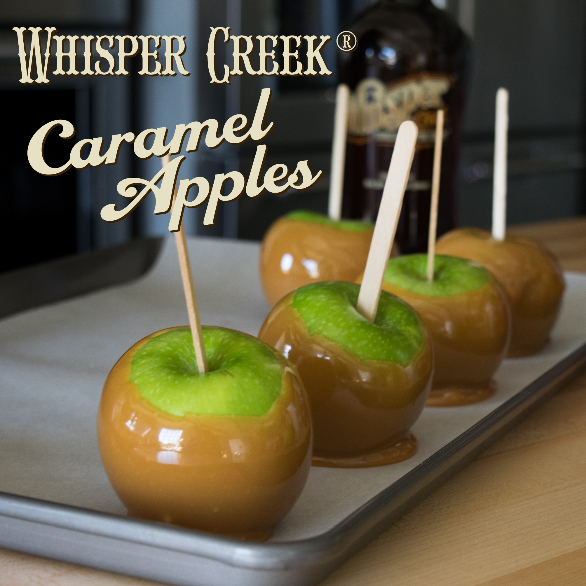 Whisper Creek Caramel Apples - Easy and Delicious!!