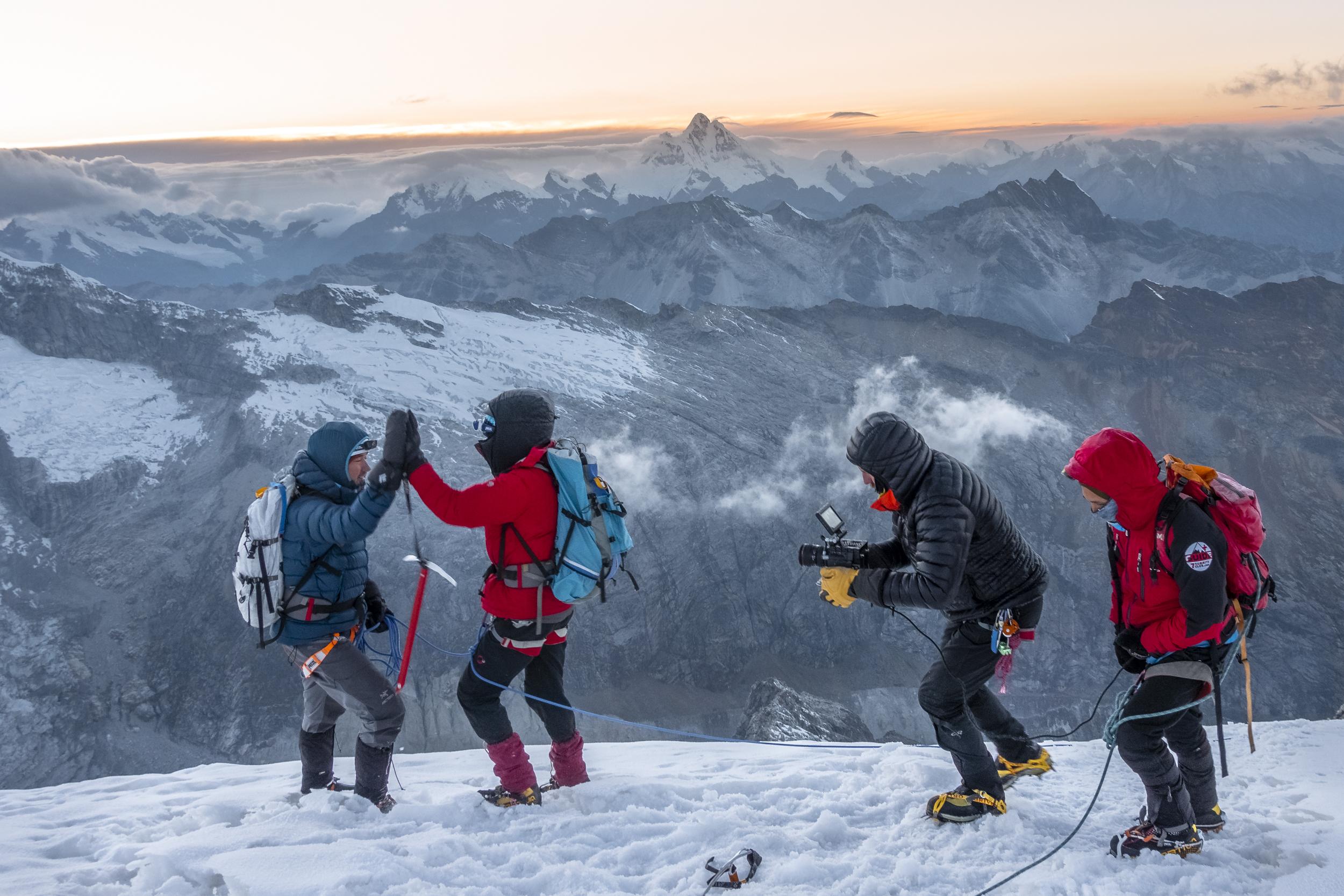 high altitude mountain filmmaking