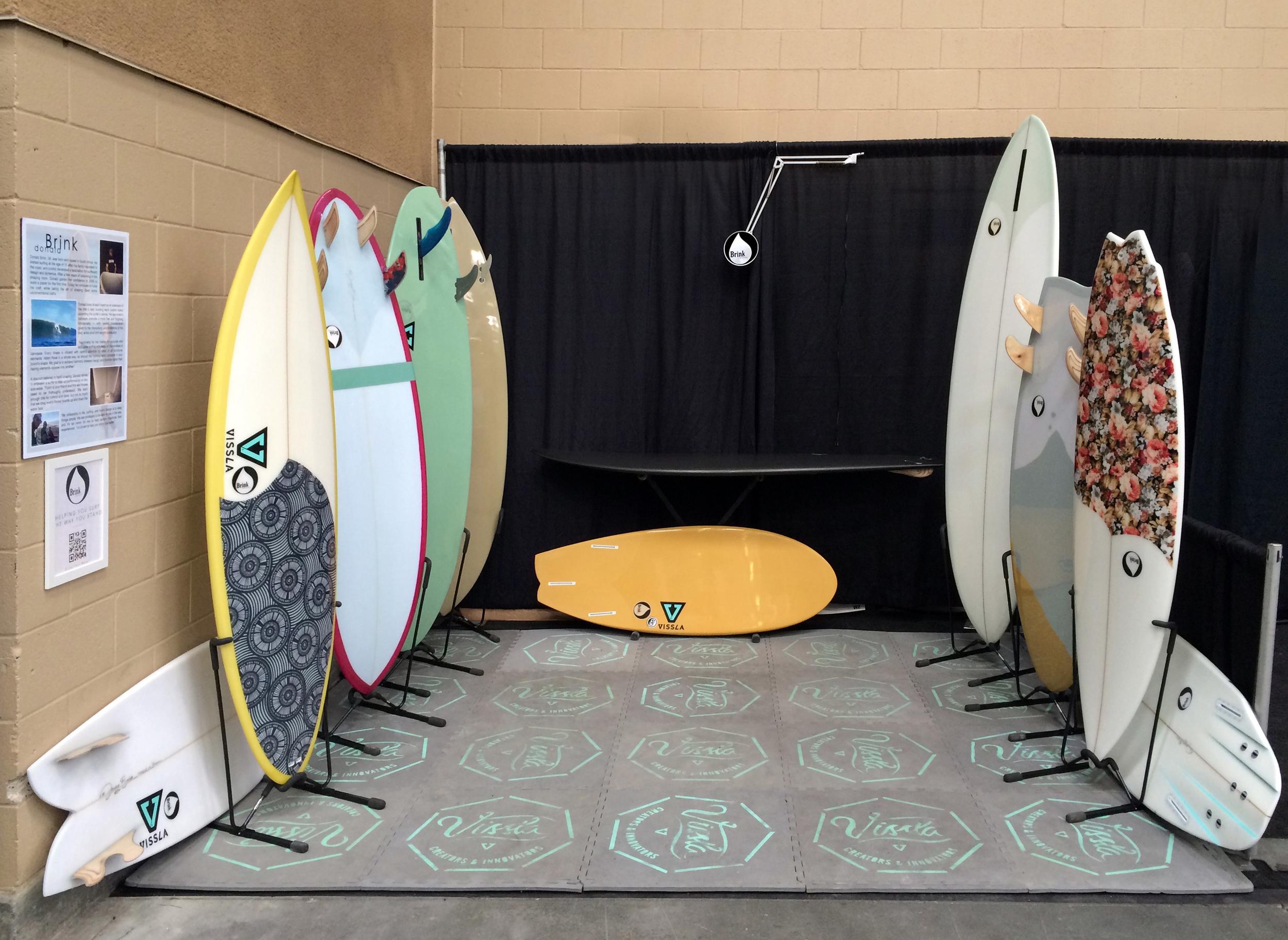 Boardroom show booth 2015 Brink