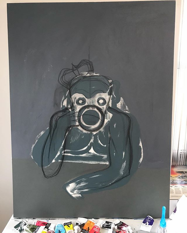 Finally got a charcoal sketch that feels closer to what I had in mind.  Now I have to go to work... woah is me! #starvingartists #starvingartist #keephopealive #chicagoartist #chicagoartists #thehustleisreal #illustrator #illustratorsoninstagram #coffee #art