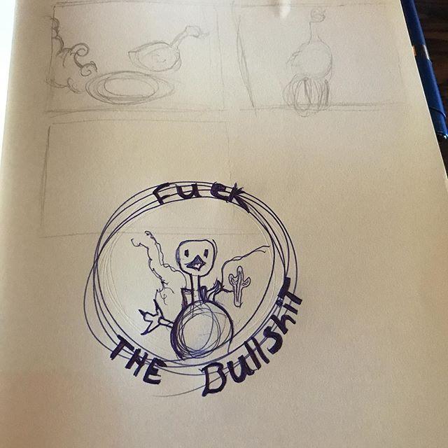 Rough sketches for a friend. #fuckthebullshit #illustrator #illustratorsoninstagram #chicagoartists #chicagoartist #roadrunner #roughsketches #roughsketch #coffee #beer #art #artist #desert #cartoons #hope #roadrunners #roadrunnerbird