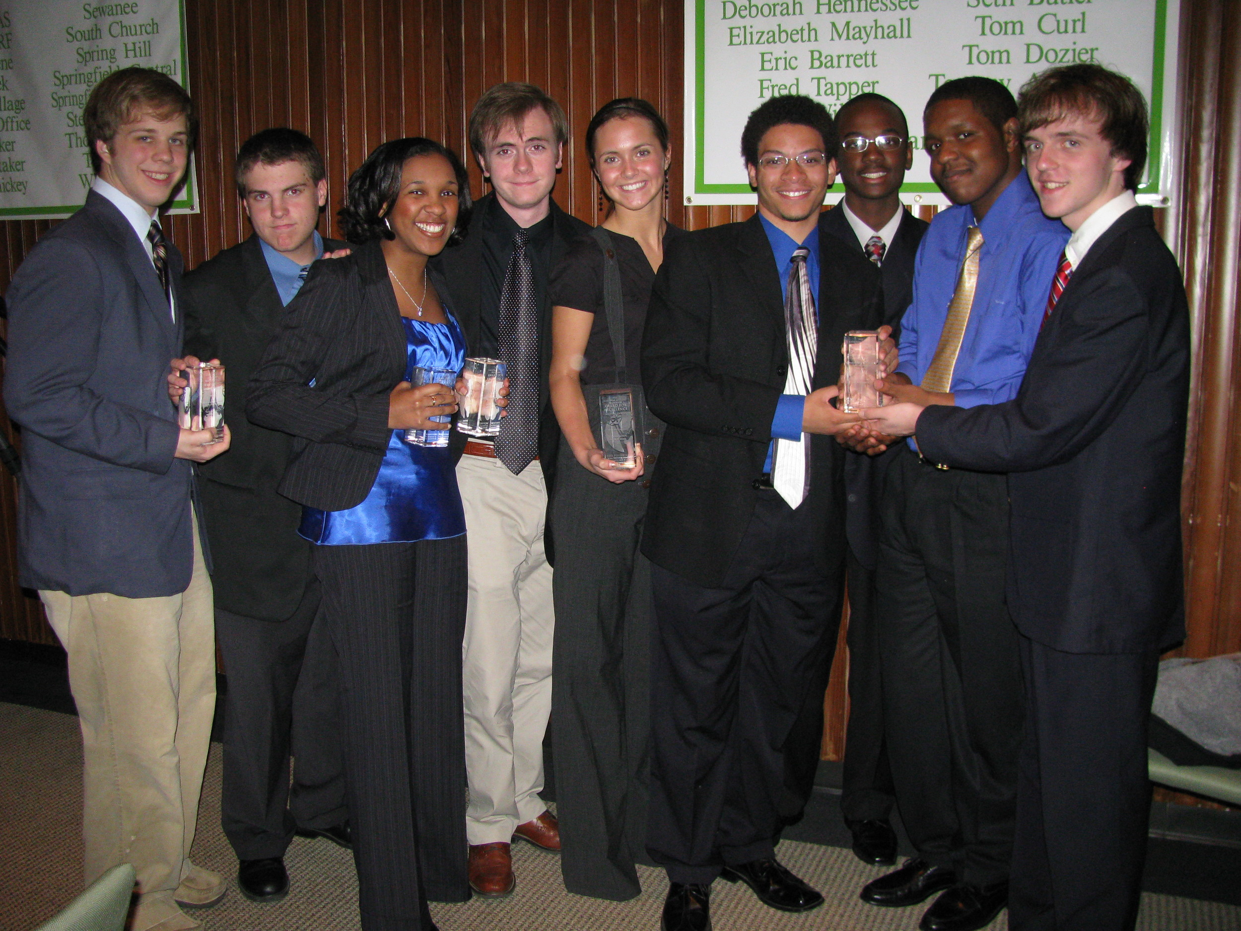 2008 Student Emmy Nominees