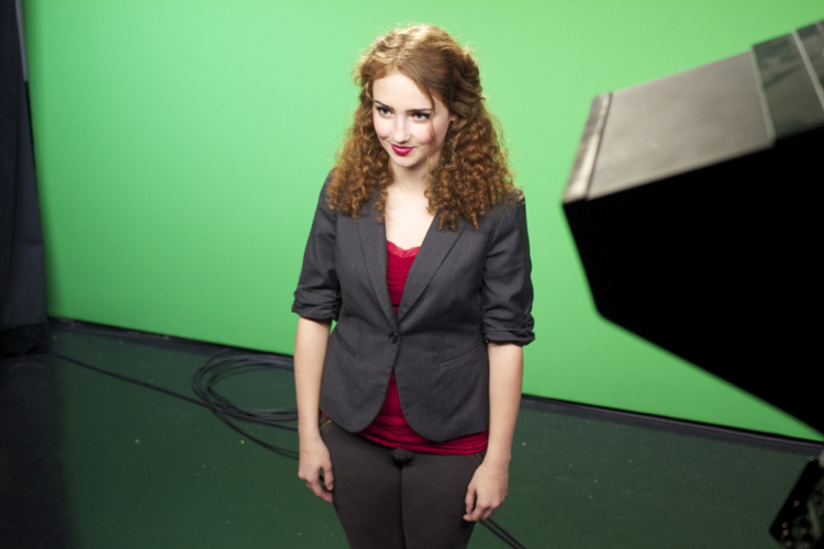 Moderator Sydney Armstrong is the only current anchor who's making a return to the election desk. Sydney was gubernatorial anchor for  Election Night 2012  as a sophomore. She's no doubt been sharing tips with the rest of the anchor team.