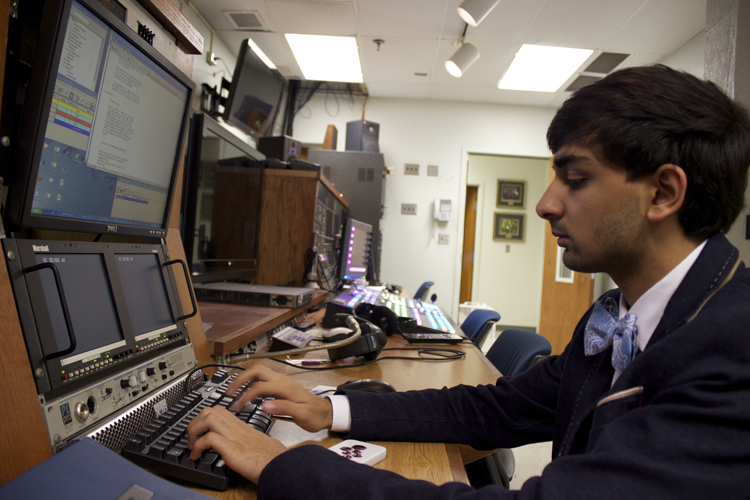 Less than two weeks away from election night, Gilani is working to finalize the open he will use on-air for the show.