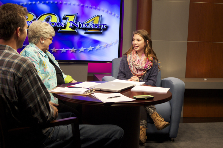 Assistant guest producer Maggie Burchfield sits in as a rehearsal guest for political analysts Rob Thomas and Ruth Dunning. They had an in-depth conversation about popular TV shows.