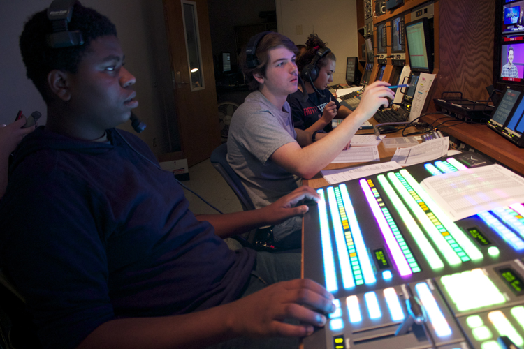 Sean Byrne directs the show along with switcher Myles Roddy.