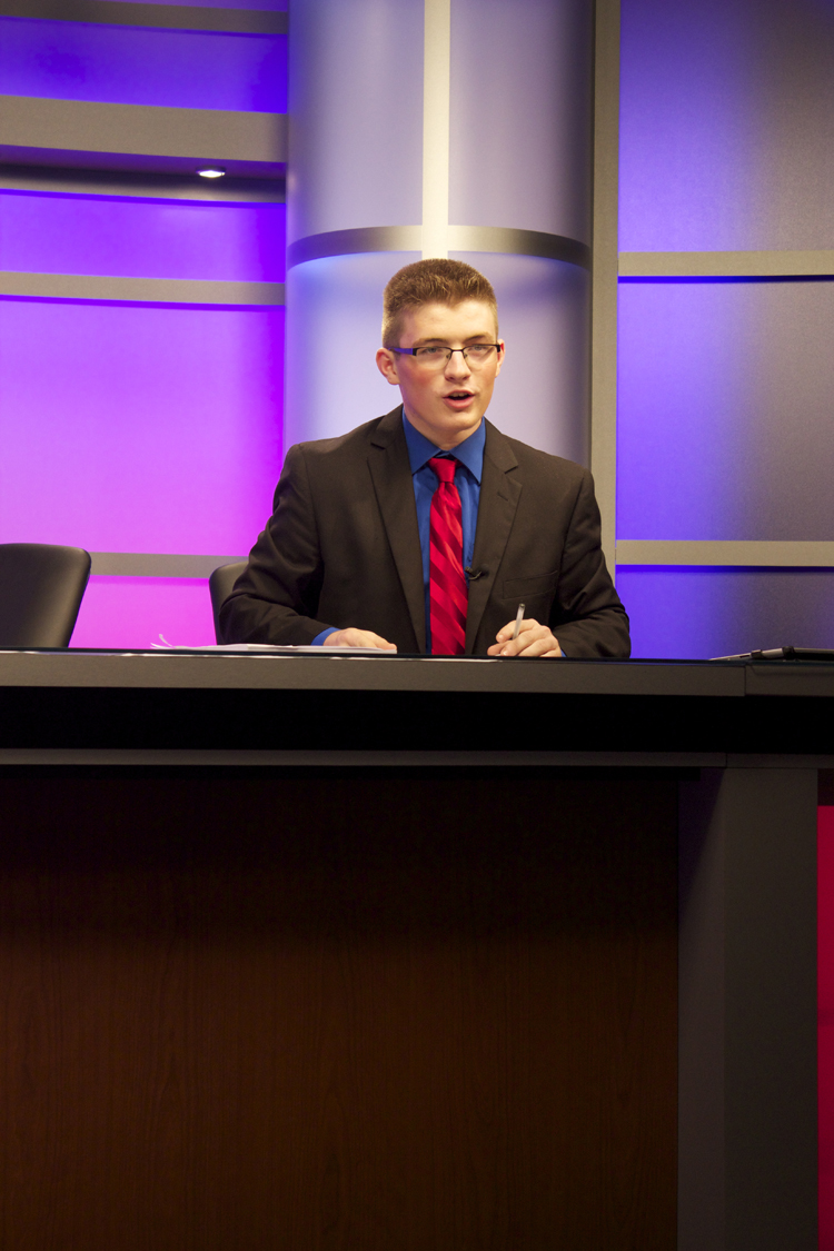 Election Night 2014  actually marked one of Will Alton's first on-air appearances for GHS-TV.