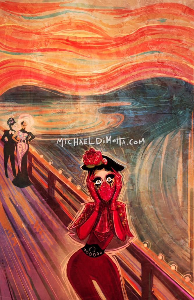 Rupaul S Drag Race Michael Dimotta Illustrations Llc