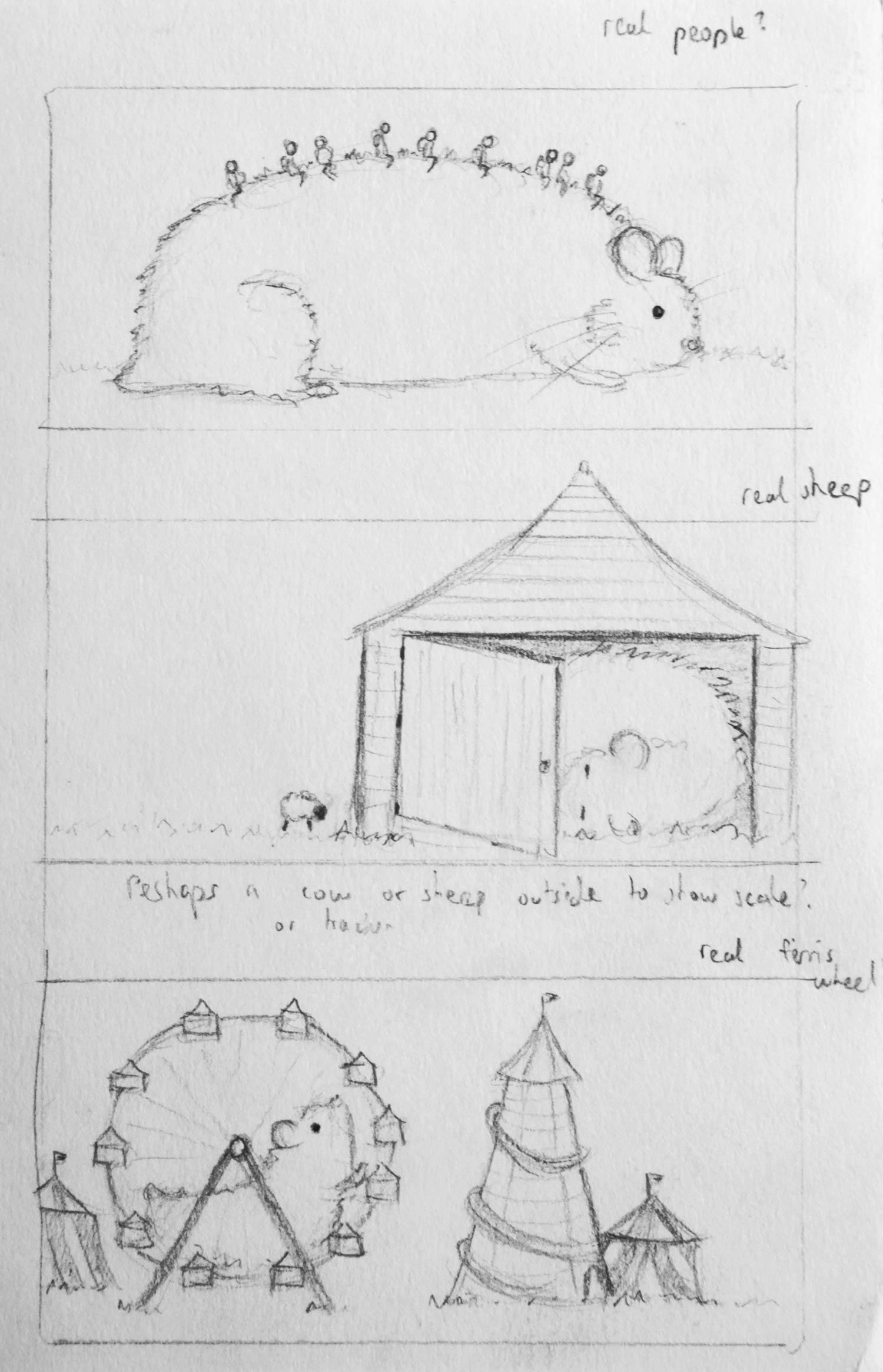 Some very very early sketches