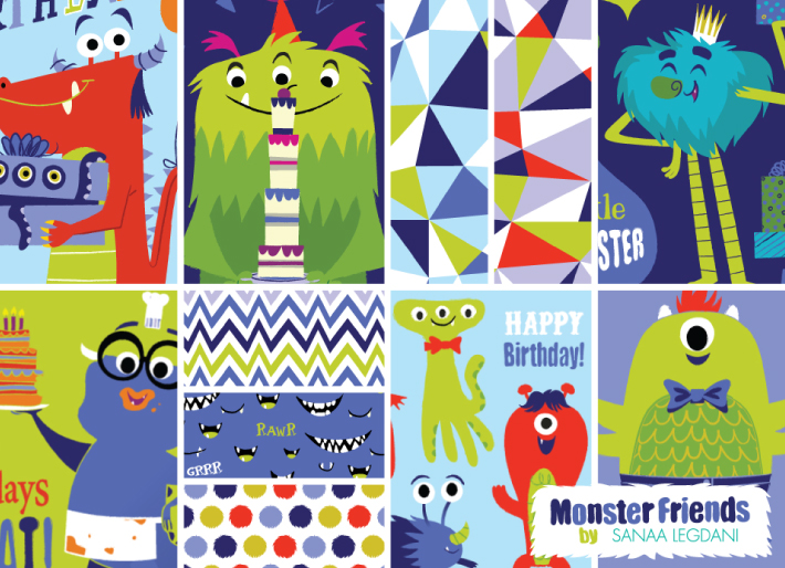 Monster Friends Collection