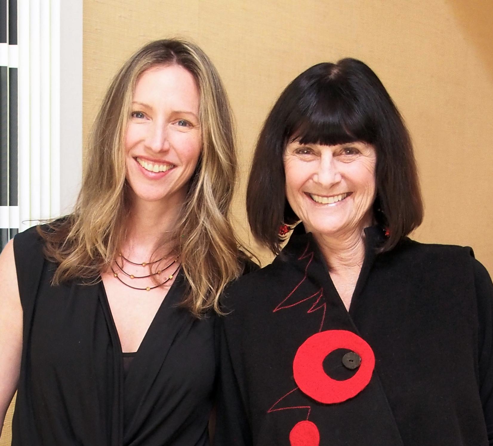 Jennifer Crowe and Barbara Balaban