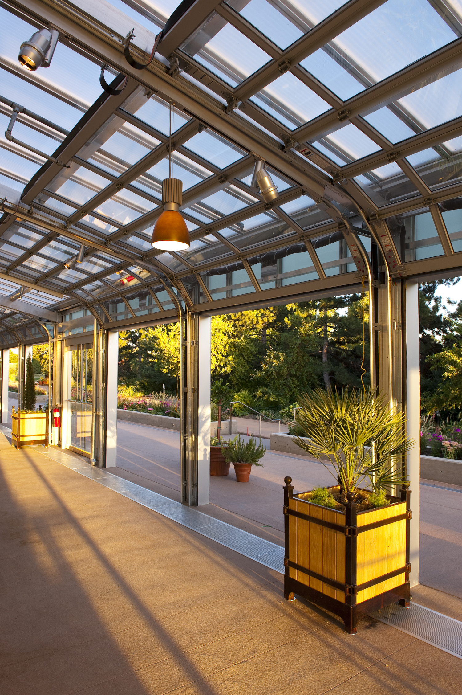 Denver Botanic Gardens, Tryba Architects  (prior to establishing Janco Designs)  Photo: Scott Dressel-Martin
