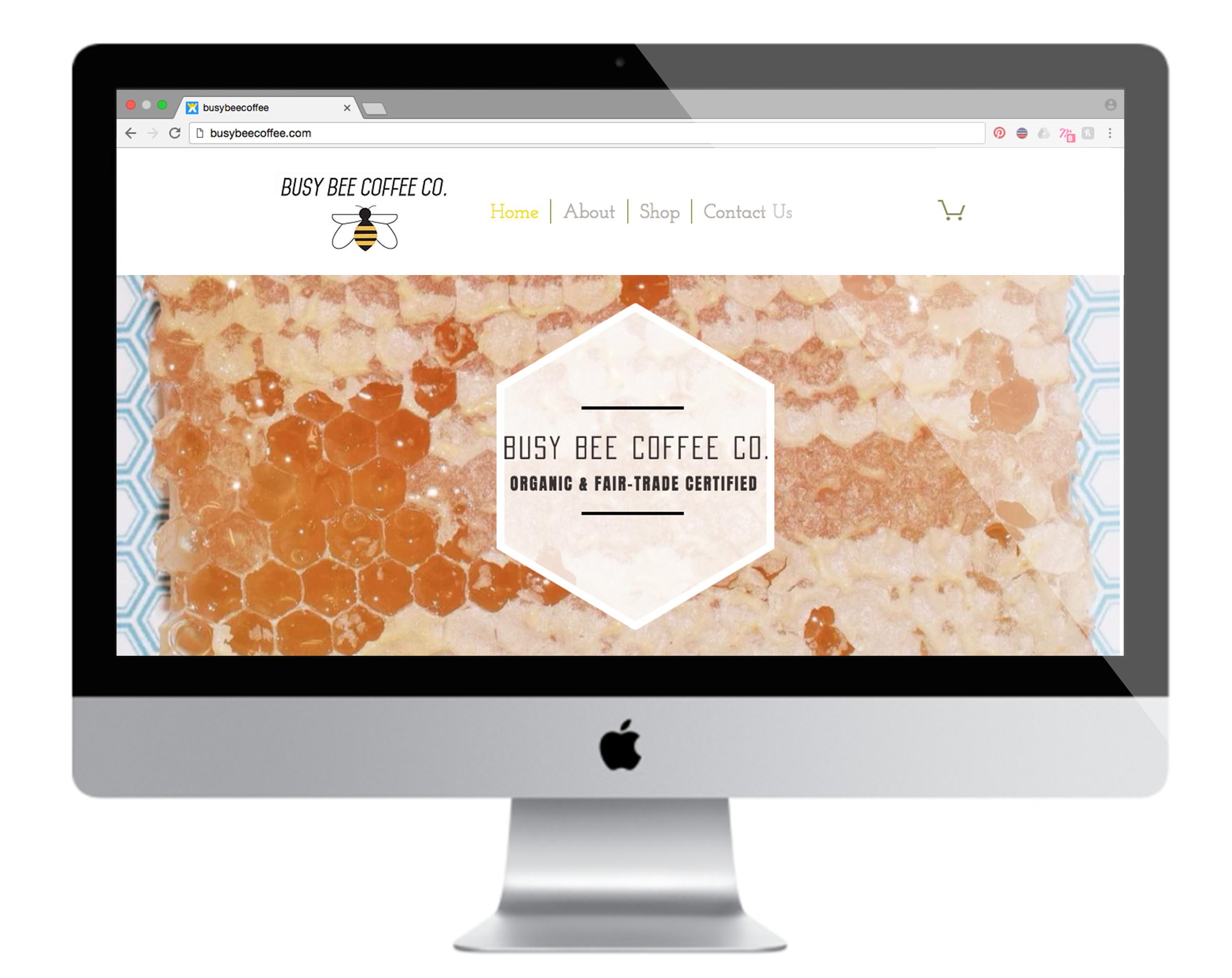 Busy Bee Coffee Co. Website